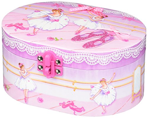Hot Focus Ballerina Beauties Musical Jewelry Box with Figurine