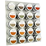 Complete Gourmet Seasonings, Spices & Finishing Salts of the World, 20 Count Spice Rack and Gourmet Spices