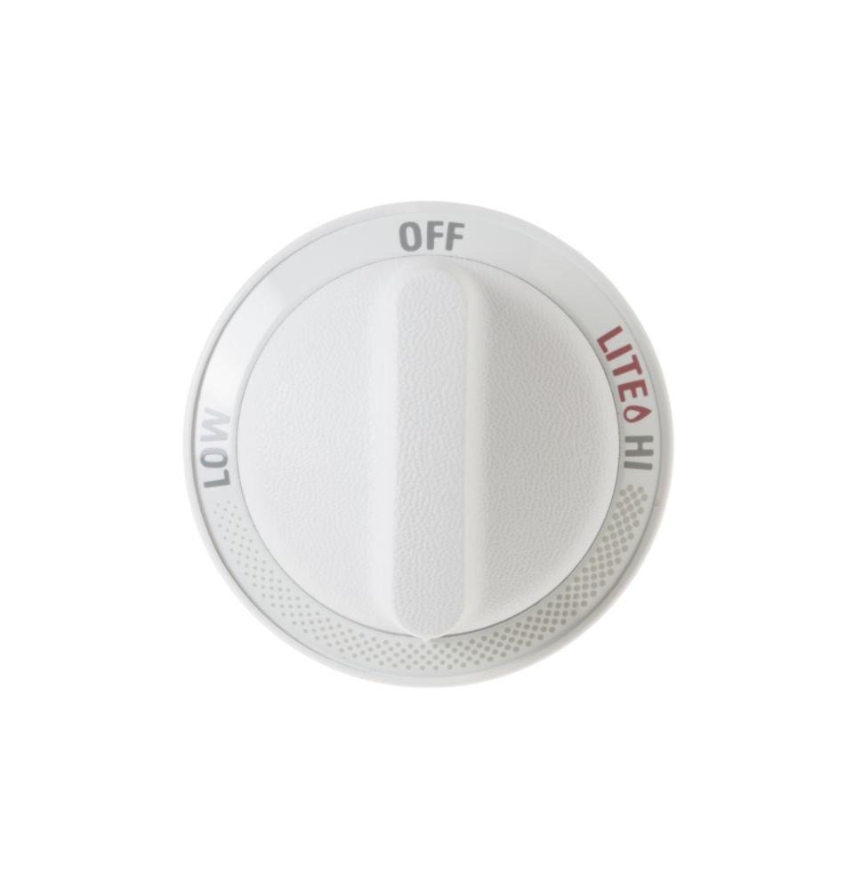 WB3K5278 GE Cooktop Top Burner Control Knob