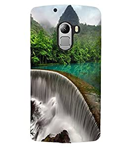 ColourCraft Beautiful Waterfall Design Back Case Cover for LENOVO VIBE K4 NOTE