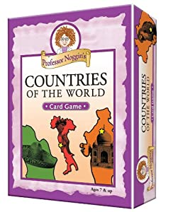 Educational Trivia Card Game - Professor Noggin's Countries of the World