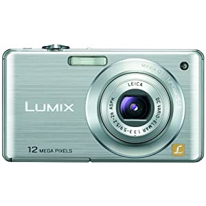 Buy Cheap Lumix - Panasonic Lumix DMC-FS15 12MP Digital Camera with 5x MEGA Optical Image Stabilized Zoom and 2.7 inch LCD (Silver)