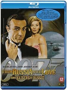 James Bond: Bons baisers de Russie [Blu-ray] [Import belge]