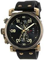 Vestal Men's OBCS001 USS Observer Chrono Black White Lume Watch by Vestal