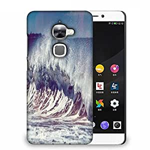Snoogg Ocean Scream Designer Protective Phone Back Case Cover For Samsung Galaxy J1