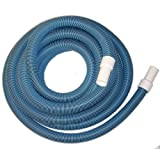"""Protech BS114X18 Swimming Pool 1 ¼"""" x 18' Vacuum Hose with Swivel Cuff"""