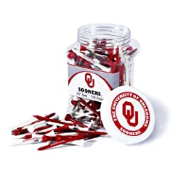 Brand New University of Oklahoma Sooners 175 imprinted Tee Jar by Things for You