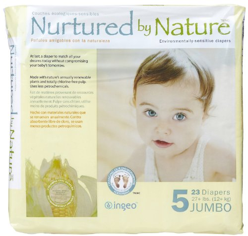 Nurtured by Nature Diapers - Size 5 - 23 ct - 1