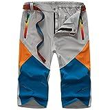 SemiAugust(セミオーガスト)メンズ 吸汗速乾パンツ カジュアルパンツ 運動用 登山用 快適 フィットネス カラーはグレー サイズは3XL