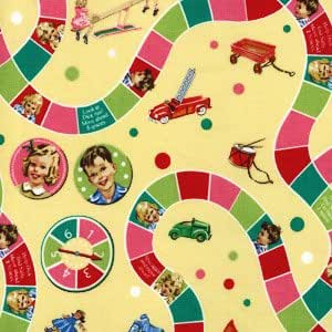 Dick Jane Fabric Game Board Limited
