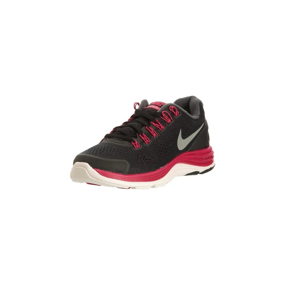 8e5d59bd24ee7 Nike Womens NIKE LUNARGLIDE+ 3 BREATHE WMNS RUNNING SHOES (BLACK MTLLC  SIVER WHT