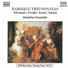 6 Trio a Violini e Basso: Sonata No. 4 in D minor, TWV 42:d2: III. Presto
