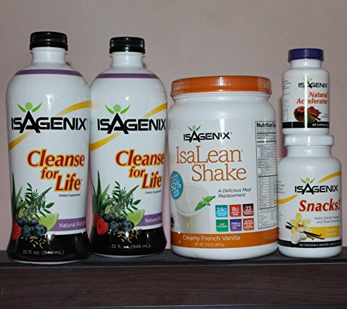 Isagenix Cleansing And Fat Burning System - 9 Day Program Vanilla Flavor