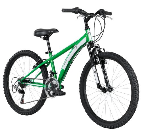 DiamondBack Diamondback Bicycles 2014 Cobra Junior Boy's Mountain Bike (24-Inch Wheels), One Size, Green