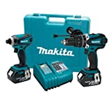Makita LXT218 18-Volt LXT Lithium-Ion Cordless 2-Piece Combo Kit