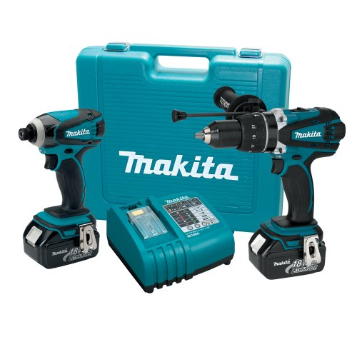 Sale!! Makita LXT218 18-Volt LXT Lithium-Ion Cordless 2-Piece Combo Kit