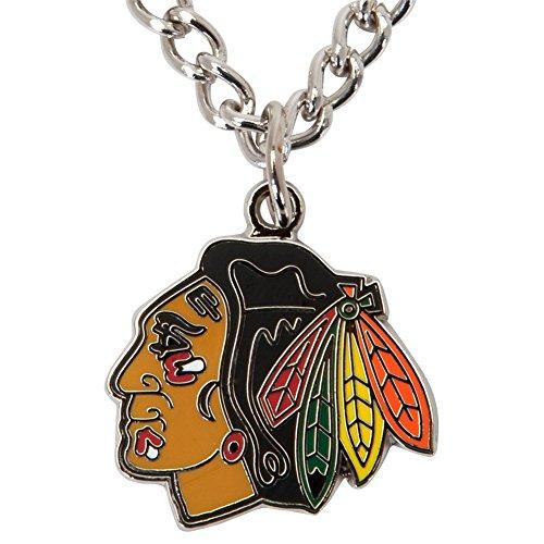 chicago blackhawks necklace blackhawks necklace
