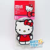 51h6O5vUAbL. SL160  Licensed Hello Kitty Air Freshener 2 Pack Strawberry Scent   RED Ribbon