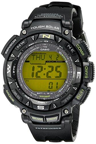 Casio Men's PAG240-1BCR Pathfinder Triple Sensor Solar Digital Watch