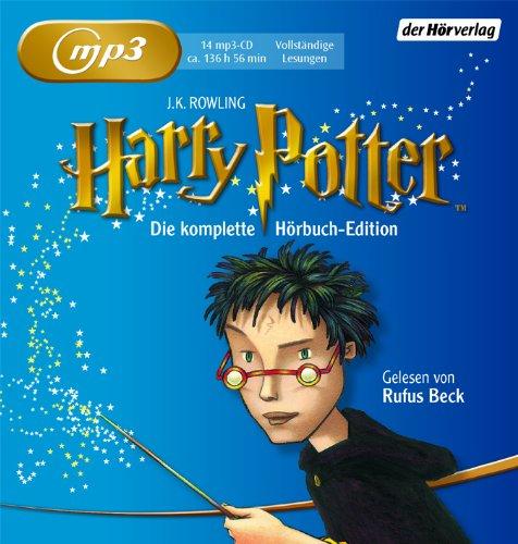 Harry Potter: Die komplette Hörbuch Edition - Gelesen von Rufus Beck das CD von Joanne K. Rowling - Preise vergleichen & online bestellen