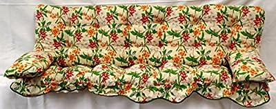 Polsterauflage, Orchidee Hollywoodschaukel, Auflage, Hollywood, Sitzauflage, Gartenschaukelauflage von Kühnemuth auf Gartenmöbel von Du und Dein Garten