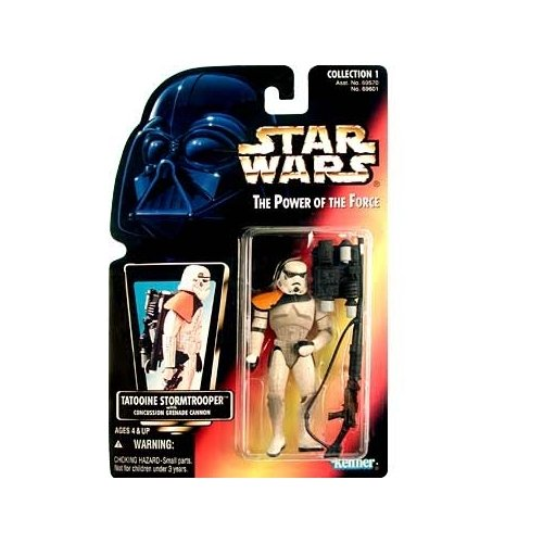 Hasbro 69601 Star Wars the Power of the Force Sandtrooper with Heavy Blaster Rifle