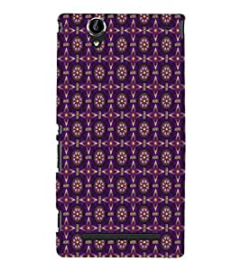 EPICCASE charade Mobile Back Case Cover For Sony Xperia T2 (Designer Case)