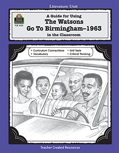 The watsons go to birmingham 1963 essay