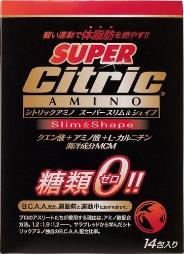 シトリックアミノ スーパースリム&シェイプ ダイレクトor500ml用 6g×14包