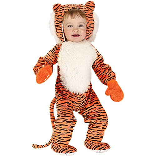 BABY TIGER BOY OR GIRL HALLOWEEN COSTUME (12-24)