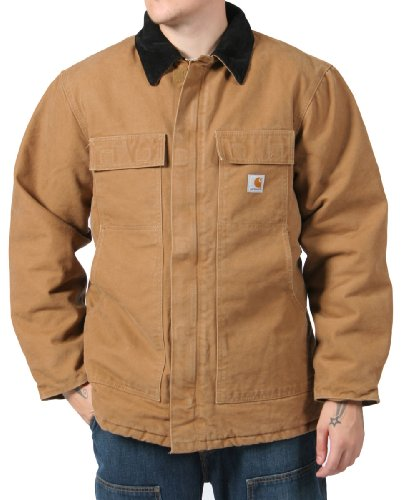 Carhartt Traditional Coat Winter work Jacket - Mens Sandstone Brown
