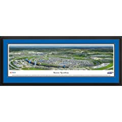 NASCAR Tracks - Kansas Speedway Aerial - Framed Poster Print by Laminated Visuals