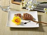 西田(Nishida) 24cmスクエアプレート 角皿 寿司皿 フレンチ皿 110168