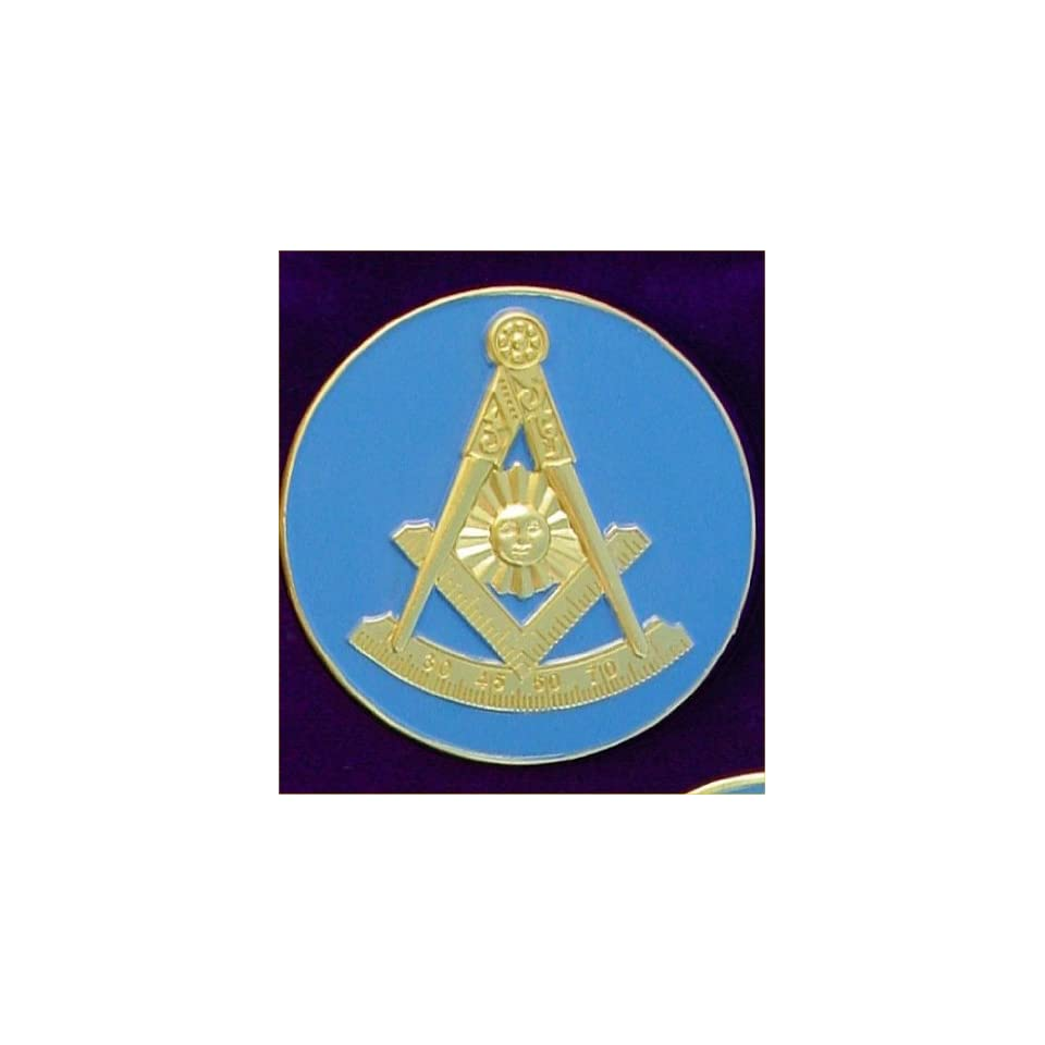 AF&AM Past Master Masonic Bumper Sticker With Square