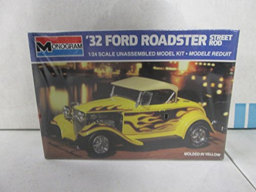 Monogram '32 Ford Roadster Street Rod 1:24 Model Kit (Street Rod Model Kit compare prices)
