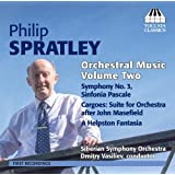 Spratley; Orchestral Music Vol. 2