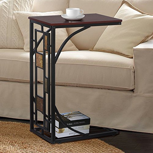 New Coffee Tray Side Sofa Table Couch Room Console Stand End TV Lap Snack Drink (Ottomans On Wheels compare prices)