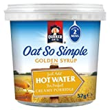Quaker Oats Oat So Simple Pot Golden Syrup Flavour 8 x 57gm
