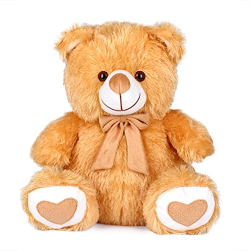 Richy-Toys-Teddy-Bear-animallovegiftbirthdayfor-kids-Big-valentine-40-CM-Brown