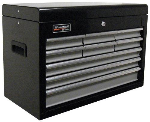 Images for HOMAK BG02026903 27-Inch SE Series 9-Drawer Top Chest - Black/Gray