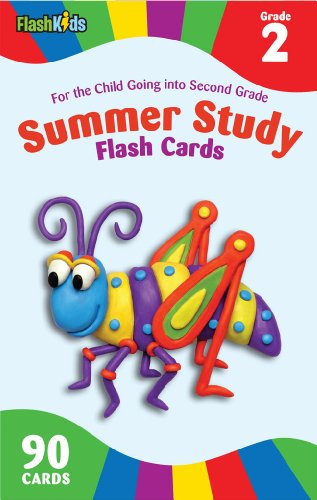 Summer Study Flash Cards Grade 2 (Flash Kids Summer Study)