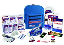 ER Emergency Ready 2 Person Deluxe Backpack Survival Kit