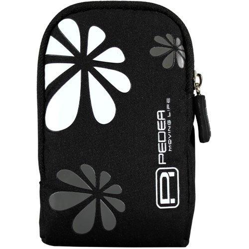 Kameratasche schwarz/weiss passend für SAMSUNG DV180F / DV90 / ES73 / ES95 / ST67 / ST76 / ST96 / WB35F
