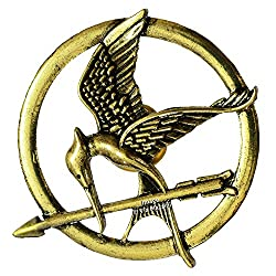 Famous The Hunger Games Mockingjay Bird Brooch By Via Mazzini (Brooch0353)