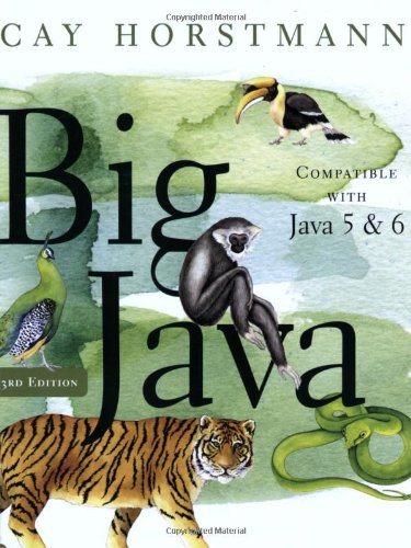 big java early objects 5th edition pdf free