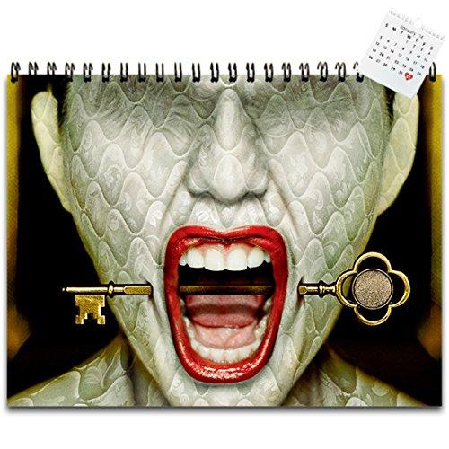 "American Horror Story Hotel 2016 Wall Calendar 17"" x 11"""