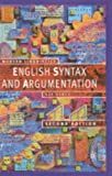 Engish syntax and argumentation