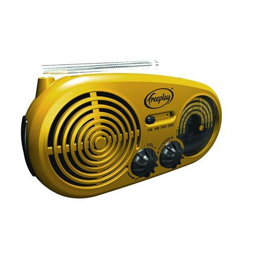 Freeplay Solar- und Kurbelradio Assist