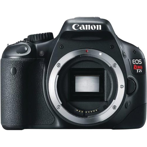 Canon EOS Rebel T2i 18 MP CMOS APS-C Sensor DIGIC 4 Image Processor Full-HD Movie Mode Digital SLR Camera with a 3.0-Inch LCD and Dedicated Movie Button (Body Only)