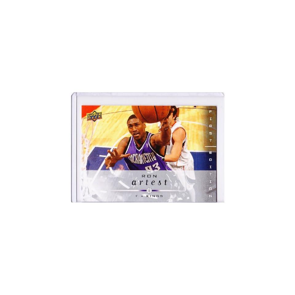Ron Artest 2008 09 Upper Deck First Edition NBA Card #166